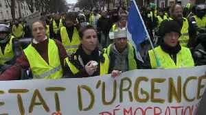 Divisions emerge in the French yellow vest movement [Video]