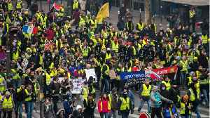 News video: French 'Yellow Vests' Defy Macron In 11th Consecutive Week Of Protests