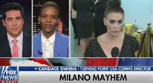 Candace Owens rips hypocrite Alyssa Milano on Jesse Watters show [Video]