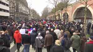 Thousands march in Paris against violence of 'yellow vest' movement [Video]