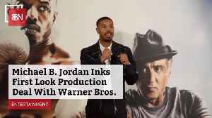 Michael B. Jordan Does A Special Deal With Warner Bros [Video]