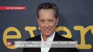 Richard Grant Was Overwhelmed By Oscars Nod [Video]