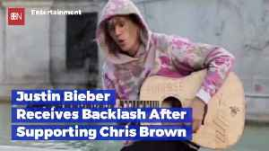 Justin Bieber Is Getting Serious Blowback After Supporting Chris Brown [Video]