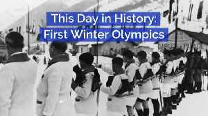 The First Winter Olympics: This Day In History [Video]