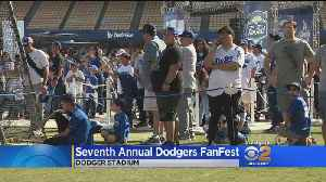 dodgers Hold Seventh Annual Fan Fest [Video]