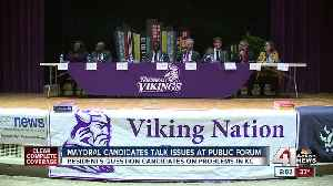 Northeast residents grill KCMO mayoral candidates at forum [Video]