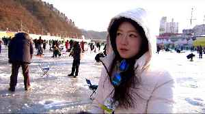 South Korea: Thaw in ties with North boosts ice fishing festival [Video]