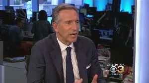 Former Starbucks CEO Howard Schultz Expected To Announce Third Party Presidential Campaign For 2020 [Video]
