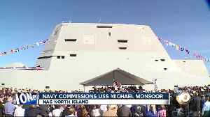 Navy commissions USS Michael Monsoor [Video]