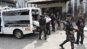 Philippines Vows to Crush 'Terrorists' After Church Bombs Kill 20 [Video]