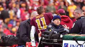 QB Alex Smith Not Expected To Play For The Redskins Next Season [Video]