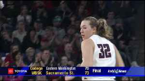 No. 18 Gonzaga women tested by Broncos early, roll to 17-point win [Video]