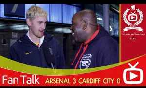 Arsenal FC 3 Cardiff City 0 - Ramsey's Having The Season Of His Life says Blondie [Video]
