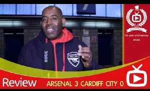 Cardiff City 0 Arsenal 3 2013 Review From The Stadium [Video]