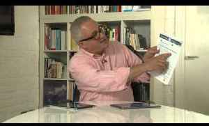 Jonathan Margolis on the Samsung Galaxy Tab and How To Spend It's iPad app [Video]