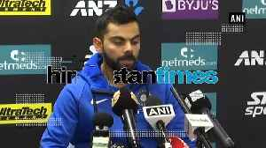 Victory in 3 games is outstanding achievement: Virat Kohli [Video]