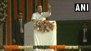 We will give minimum income guarantee if voted to power: Rahul Gandhi [Video]