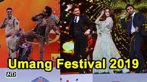 Ranveer, SRK, Alia, Ranbir set the stage on Fire | Umang festival 2019 [Video]