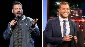 Jimmy Kimmel Totally Doesn't Think 'The Bachelor' Colton Underwood Is a Virgin [Video]