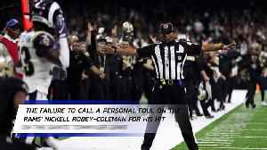 NFL Admits to Blown Penalty Call in NFC Championship Game [Video]