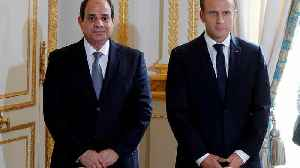 Macron presses Egypt's Al-Sisi on human rights during official visit [Video]