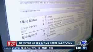 Beware of IRS scams [Video]