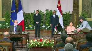 French arms sales to Egypt in the spotlight [Video]