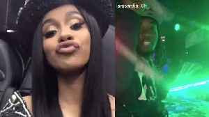 Cardi B & Offset Have Another Wild Night At The Strip Club [Video]