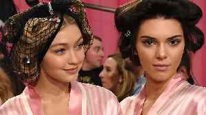 Kendall Jenner & Gigi Hadid Back On For Victoria's Secret Fashion Show [Video]