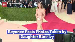 Blue Ivy Is Beyonce's New Photog [Video]