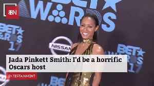 Jada Pinkett Smith Dishes On The Hosting Job: She Wasn't Offered [Video]