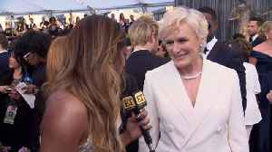 Glenn Close Talks Critics Choice Tie With Lady Gaga [Video]