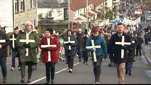 Bloody Sunday memorial march through Derry marks 47th anniversary [Video]