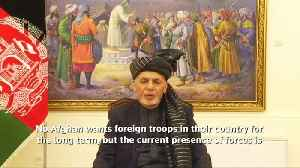 Afghans do not want foreign forces long term - president [Video]