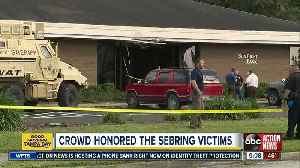 Sebring Bank Shooting: Vigil honors victims and how you can help the families of the victims [Video]