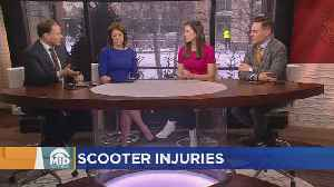 Research: 1 In 3 Who Crash In Electric Scooter End Up With Serious Injuries [Video]