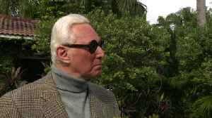 WEB EXTRA: Roger Stone Speaks To Media Outside His Fort Lauderdale Home [Video]
