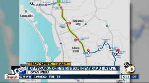 New MTS bus line to give South Bay commuter fast path to downtown [Video]