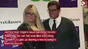 James Argent compares Gemma Collins' fall to Tyson Fury [Video]