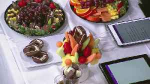 A Sweet Spin On Super Bowl Snacks [Video]