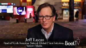 Scale & Telco Ties Help Challenge Google: Verizon Media Group's Lucas [Video]