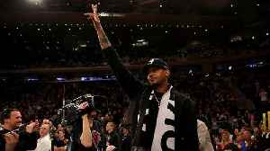 Carmelo Anthony's Return to Madison Square Garden Proved He's a Knicks Legend [Video]