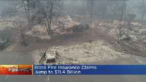 Insurance Claims From Deadly California Wildfires Top $11.4B [Video]