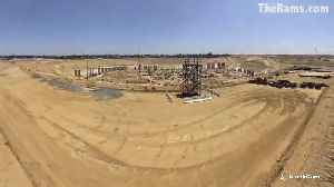 Time-lapse: The building of the of new Inglewood NFL stadium [Video]