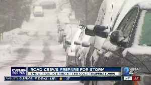 Crews across the state prepare as chilly temps bring snow chances [Video]
