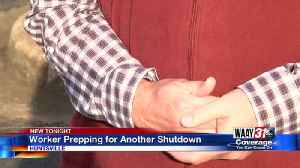 Local Workers Prepping for Another Shutdown [Video]
