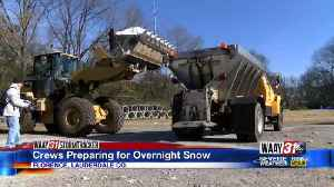Crews in Florence Preparing for Overnight Snow [Video]