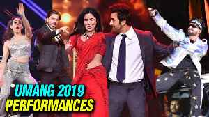 Umang 2019 : SRK, Ranbir, Ranveer, Kartik - Sara Performances INSIDE VIDEOS [Video]