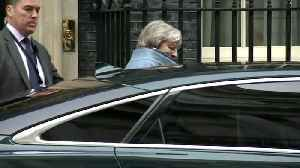 Theresa May departs Downing St ahead of Brexit debate [Video]