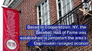This Day in History: US Baseball Hall of Fame Elects First Members [Video]